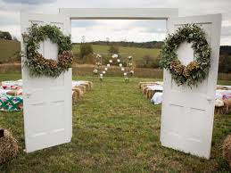 wedding entrance backdrop 20 photos that prove country weddings are the best weddings