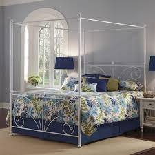vintage metal canopy bed u2014 vineyard king bed stylish metal