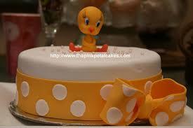 tweety bird baby shower cake our friend thanya u0027s baby show u2026 flickr