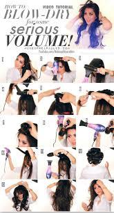 kim kardashain voluminous blow out tutorial how to blow dry hair