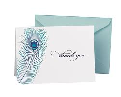 thank you cards hortense b hewitt wedding accessories thank you note