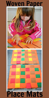 thanksgiving day games for kids woven paper pattern placemats mess for less