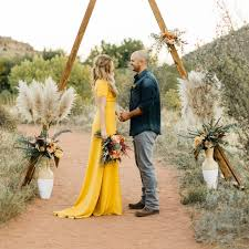 yellow wedding dress colored wedding dresses that still look bridal af brides