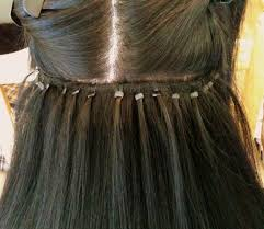 micro link hair extensions some notes on link wefts and malaysian style extensions