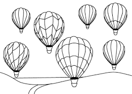 balloon coloring pages air balloons coloring page free printable coloring pages