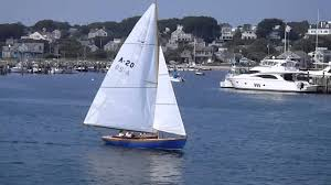 alerion express 41 alerion yachts alerion reproduction sailing in nantucket youtube