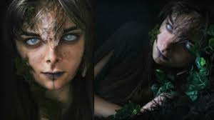 dryad forest nymph halloween makeup tutorial youtube
