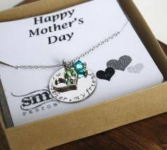 s day necklace mothers day necklace www sierrametaldesign gift ideas for