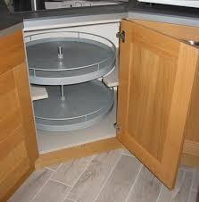 panier tournant pour meuble cuisine tourniquet 2 paniers pour meuble d angle bas delinia leroy merlin