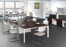 Wooden Material Element Rectangular Wooden Meeting Table 5th Element By Las Mobili Wall