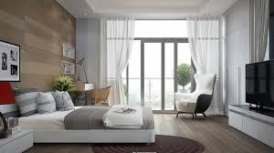 bedroom behind headboard wood panel accent wall contrast way
