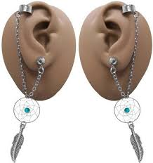 earrings with chain ear cartilage cheap earrings for top ear cartilage find earrings for top ear
