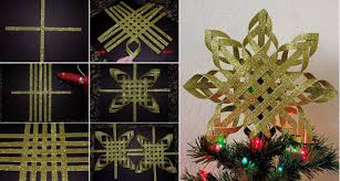 Goods Home Design Diy Diy Woven Paper Tree Topper Home Design Garden U0026 Architecture