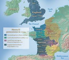 Wessex England Map by Maps The History Of English Podcast