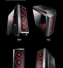 Pc Case Diy Aigo Starship 2 Full Transparent Diy Gaming Computer Case Pc Case