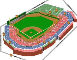 fenway park seating map fenway park stadium guide nesn com