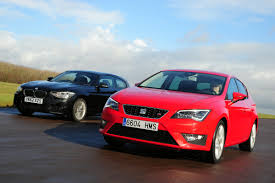 seat leon vs bmw 1 series auto express