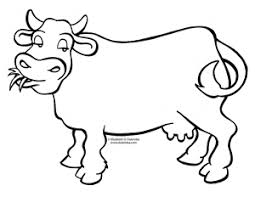 dulemba coloring page tuesday moo cow