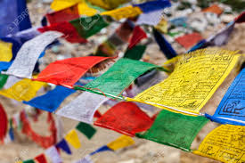 Plastic Flags Lungta Prayer Flags Stock Photos U0026 Pictures Royalty Free Lungta