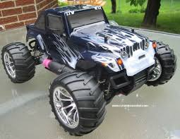 rc nitro gas monster truck hsp 1 10 car 4wd rtr 12111