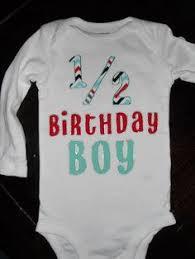 birthday onesie boy baby boy 1 2 birthday for 6 month photos bodysuit and leg