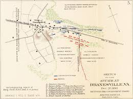 Ord Map Battle Of Dranesville Clio