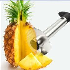 cutter de cuisine pas cher 1 pcs nouveau en acier inoxydable fruit ananas slicer