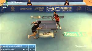 ping pong vs table tennis table tennis 2014 philippines open sambe kohei vs jimenez mark
