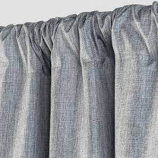 Target Linen Curtains Gray Curtains Target