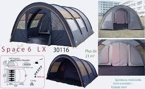 toile de tente 4 places 2 chambres tente familiale 6 à 7 personnes tente de cing familiale space 6lx