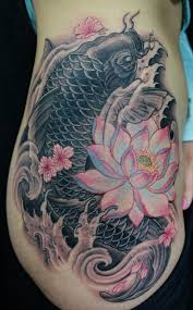 110 best japanese koi fish tattoo designs and drawings piercings