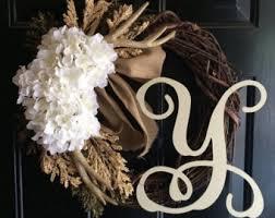 monogram wreath monogram wreath etsy