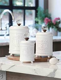 white kitchen canister sets best 25 kitchen canisters ideas on country style