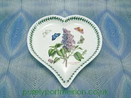 buy portmeirion botanic heart shaped dish lilac