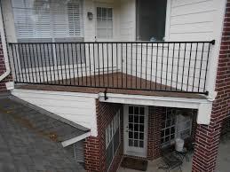 balcony railing houston fence u0026 balcony installation tim u0027s fences