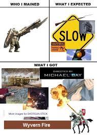 Hunter Memes - monster hunter memes google search funny goblin