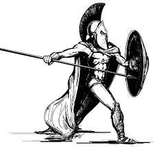 drawn soldiers spartan pencil and in color drawn soldiers spartan