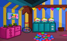 game clown room
