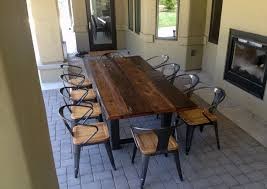 Reclaimed Dining Room Tables Kitchen Reclaimed Wood Kitchen Table Toronto Barn Plans Tables