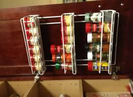 In Drawer Spice Racks Spice Racks For Kitchen Cabinets Yeo Lab Co