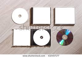 free jewel case template full set compact disc template plastic stock photo 432457177