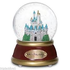 musical snow globe collectables ebay