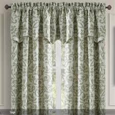 Shower Curtain And Valance Window Treatments