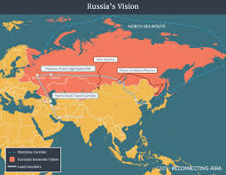 Eurasia Map Competing Visions Reconnecting Asia