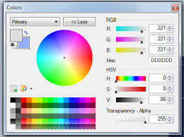 change foreground color of an image in paint net super user