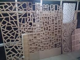 3d Wall Panels India Designer Partitions Wooden Jali 3d Wall Panels In Kirti Nagar