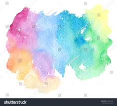 Blue Green Paint by Colorful Pink Violet Purple Blue Green Stock Illustration