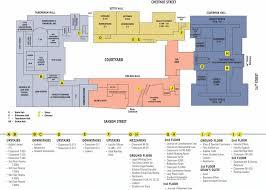 school floor plan pdf map of law school complex penn law