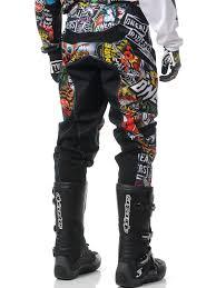 monster energy motocross gear oneal black multi 2017 mayhem lite crank mx pant ebay