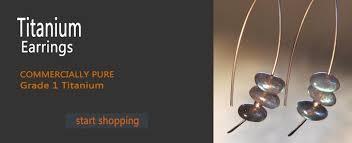 most hypoallergenic earrings titanium earrings for sensitive ears titanium earrings for